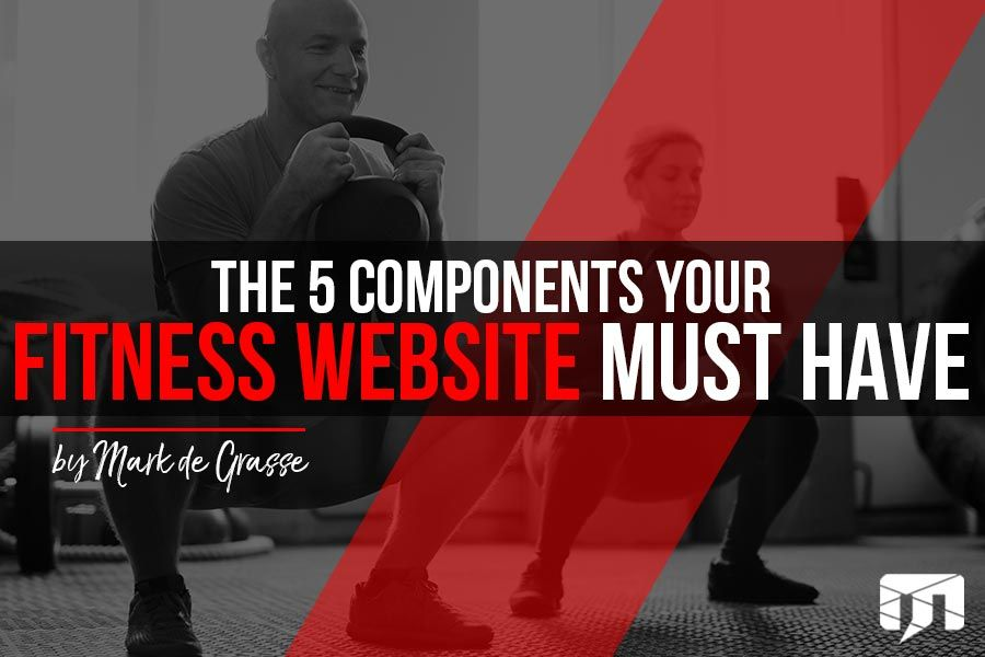 5 Components Your Fitness Website Must Have