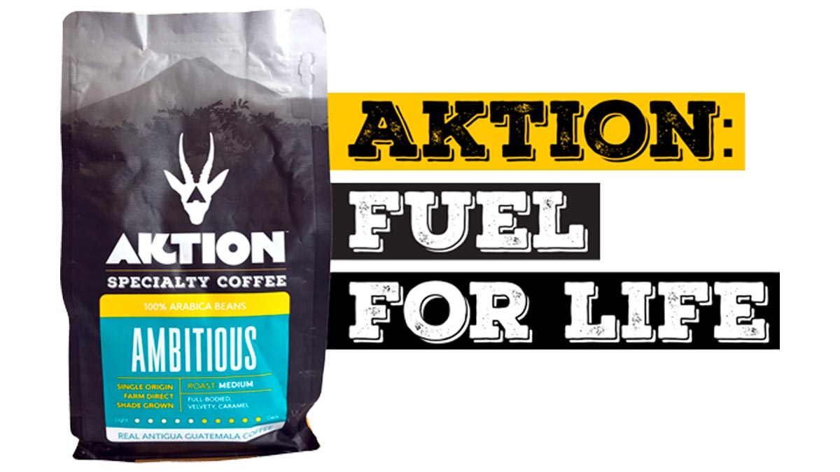 MegaMad Websites Launches Website for Aktion Coffee