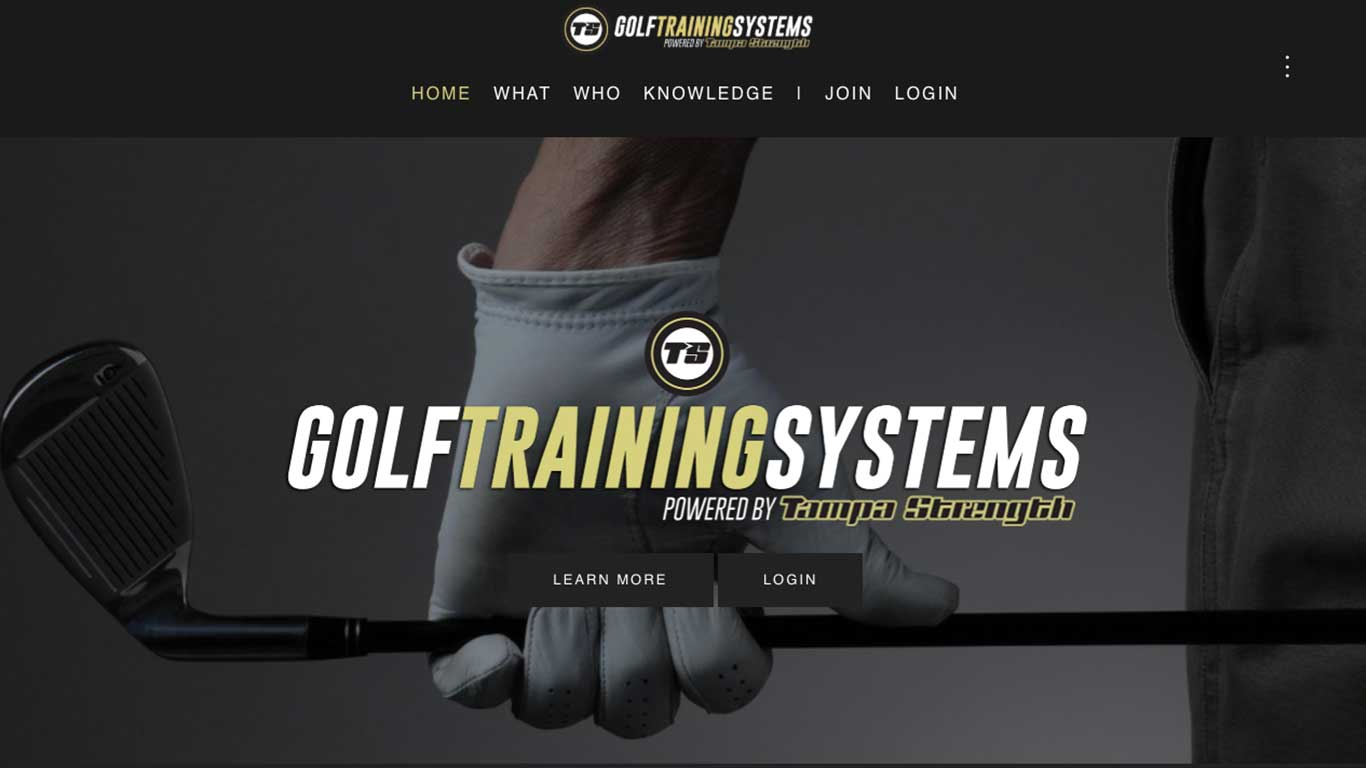 GOLF TRAINING SYSTEMS