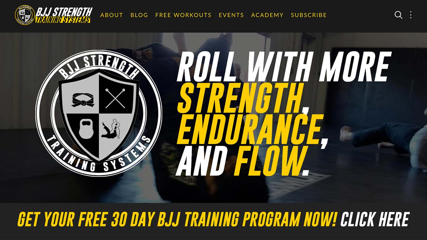 BJJ Strength Training