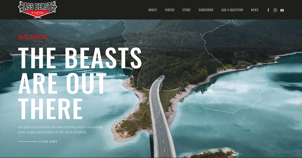 Bass Beasts Launches Bass Fishing Centered Website and YouTube Channel