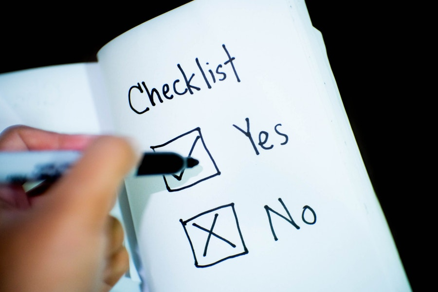 social media network checklist